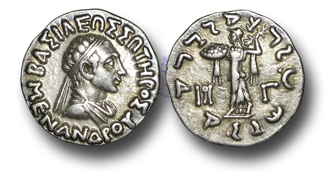The Coins of Menander